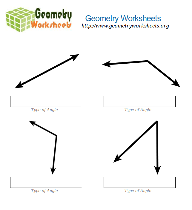 Math Angles Worksheets Geometry Angles Worksheet On Exterior – Adjacent Angles Worksheet