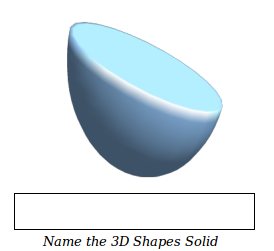 Geometry Worksheets for Identifying 3-D Solids